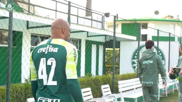 Palmeiras' last session before face Universidad Católica