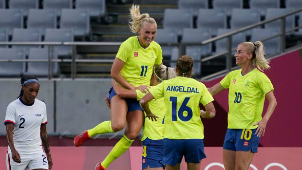 Sweden routs the USWNT at the Olympics