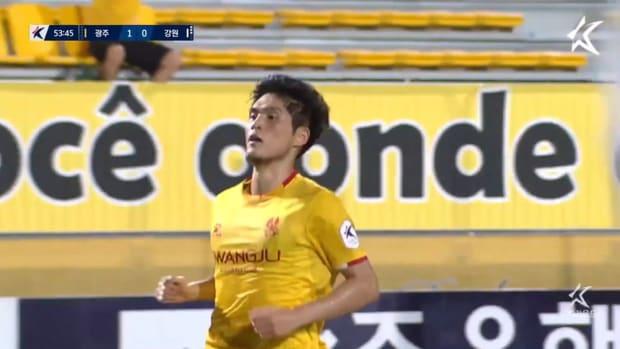 Lee Soon-min screamer against Gangwon