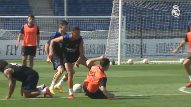 Third day of training in Real Madrid City