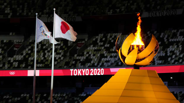 Opening ceremony for Summer Games in Tokyo