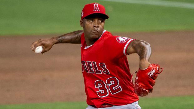 Los Angeles Angels Raisel Iglesias