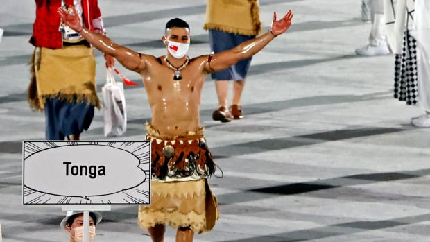 Pita-Taufatofua-Tonga