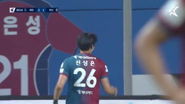 Shin Sang-eun's skillful finish against Busan