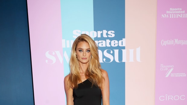 Kate Bock attends the Sports Illustrated Swimsuit celebration of the launch of the 2021 Issue.