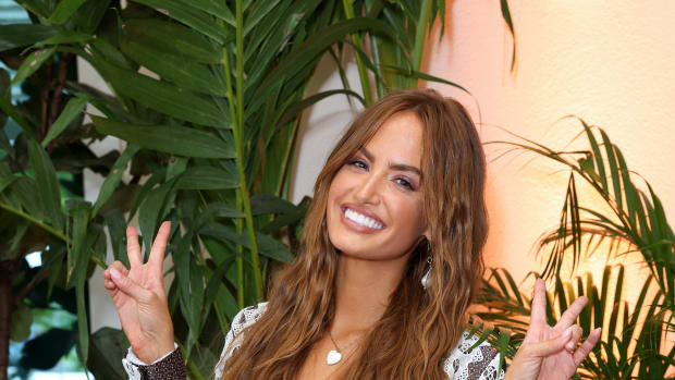 Haley Kalil attends the Sports Illustrated Swimsuit celebration of the launch of the 2021 Issue on July 24, 2021 in Hollywood, Florida.