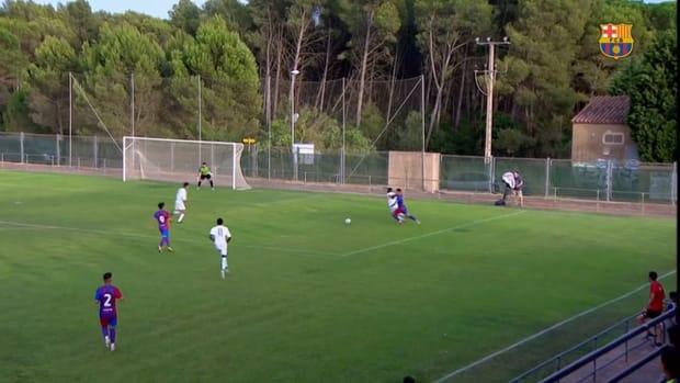 L'Escala 0-3 FC Barcelona B: Promising start under new coach Sergi Barjuan
