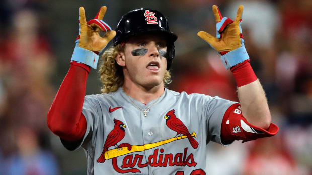 St. Louis Cardinals Harrison Bader