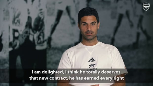 Mikel Arteta on Smith-Rowe's new contract