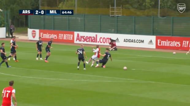 Nicolas Pépé's pre-season strike against Millwall