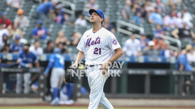 Mets pitcher Rich Hill tossed a solid debut for the Mets to help them capture a series victory over the Blue Jays.