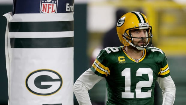 Aaron Rodgers with the Packers.