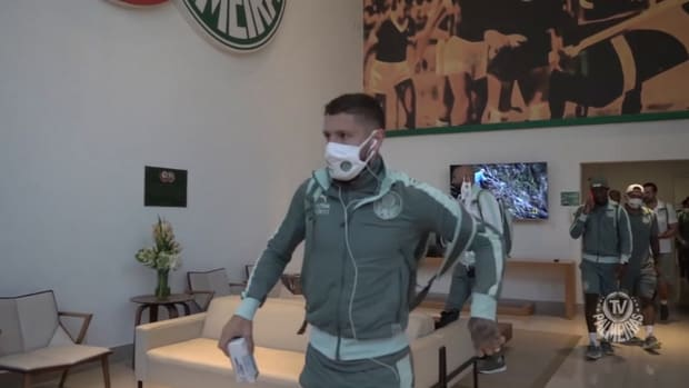 Behind the scenes of Palmeiras' victory vs Fluminense