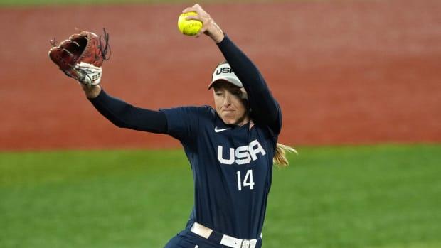 Team USA softball pitcher Monica Abbott