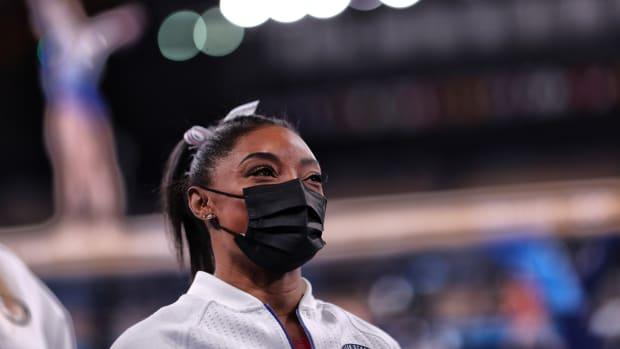 U.S. Olympic gold medalist Simone Biles