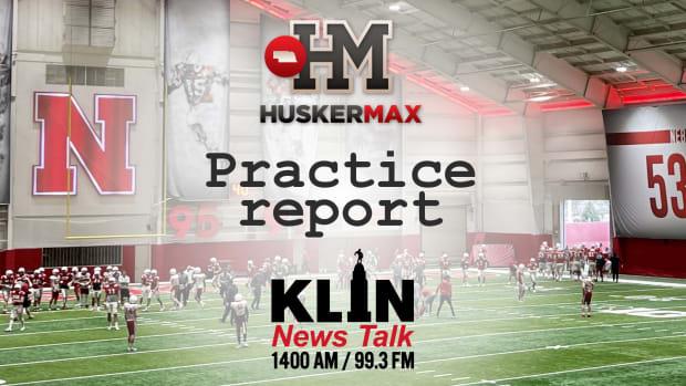 HuskerMax KLIN practice report graphic vertical stack final