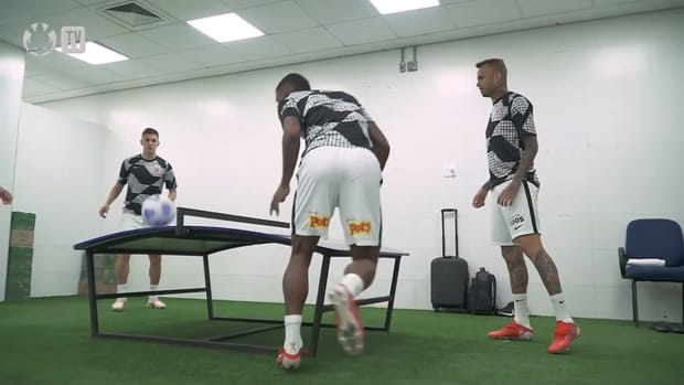 Behind the scenes of Corinthians' away victory over Cuiabá