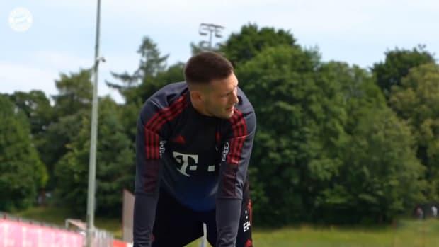 Bayern's international stars back in team training