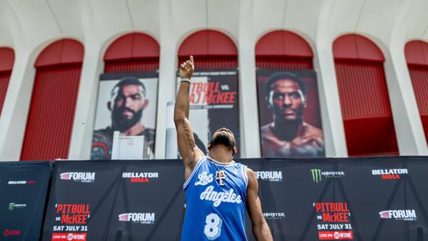 MMA fighter A.J. McKee