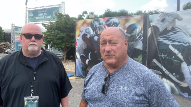 Ed Kracz and John McMullen break down Day 1 of Eagles 2021 camp