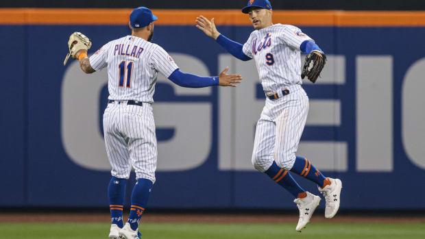 Brandon Nimmo and Kevin Pillar, New York Mets