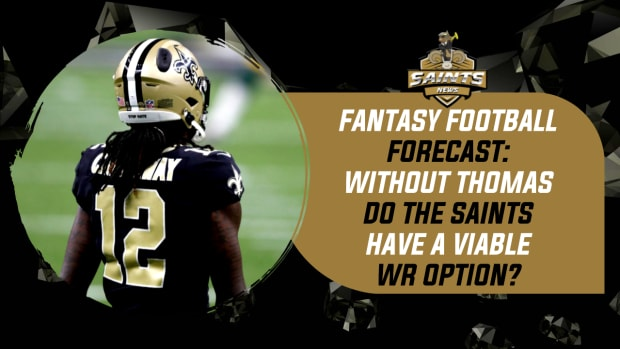 Without All-Pro WR Michael Thomas, Do the Saints Have a Viable Fantasy Option at Wide Reciever?