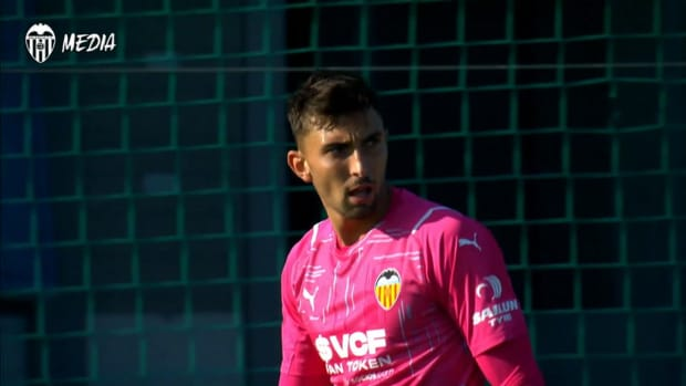 Valencia's friendly against Zaragoza