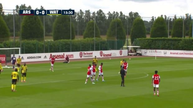 Nketiah, Lacazette on target as Arsenal hit four past Watford