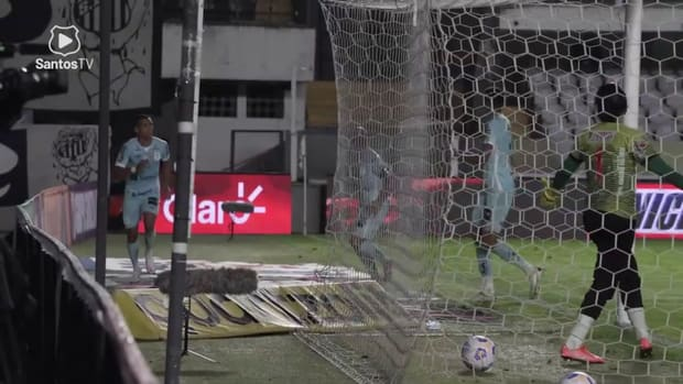 Santos beat Juazeirense in first match the octaves of final of 2021 Brazilian Cup