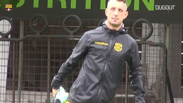 Damián Díaz returns to Barcelona SC training
