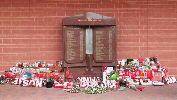 Liverpool's Hillsborough memorial
