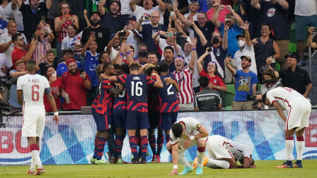 The USMNT beats Qatar in the Gold Cup semifinals