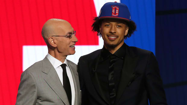Detroit Pistons pick Cade Cunningham with No. 1 pick in the 2021 NBA draft.