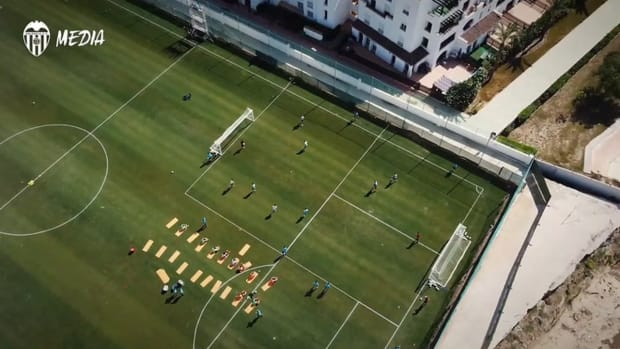 Behind the scenes: Valencia's pre-season training camp in Murcia