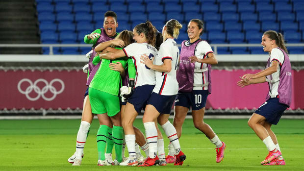 The USWNT reaches the semifinals at the Olympics