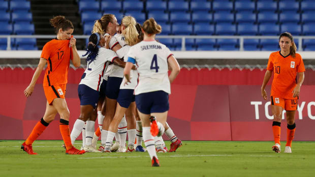 The USWNT faces the Netherlands at the Olympics