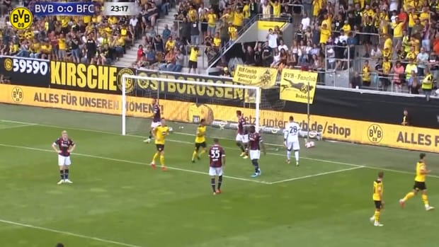 Pre season: Borussia Dortmund beat Bologna