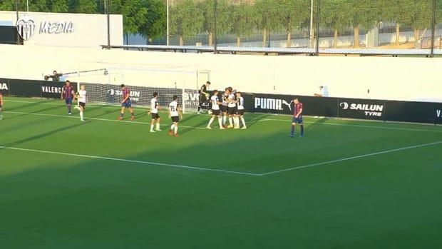 Alderete's goal against Levante