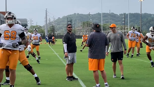 Watch: Tennessee Hits The Practice Field For Day 1 of Fall Camp