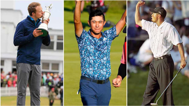 Among the all-time 25-and-unders: Jordan Spieth, Collin Morikawa and Tiger Woods.