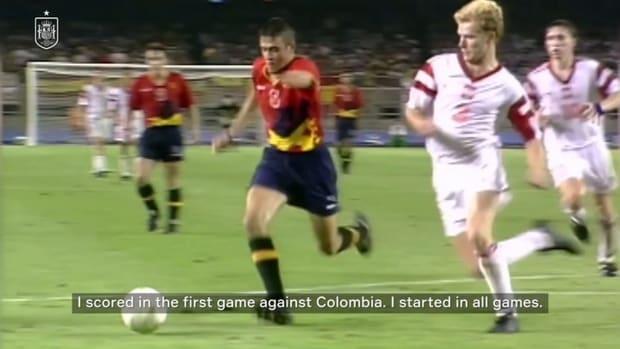 Luis Enrique looks back to Spain's 1992 gold medal