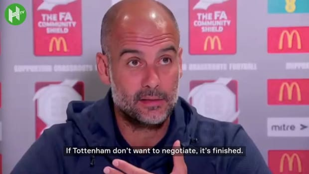 Guardiola gives update on Kane transfer