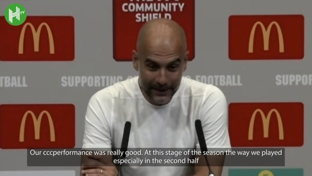Pep Guardiola on Community Shield defeat and Grealish debut