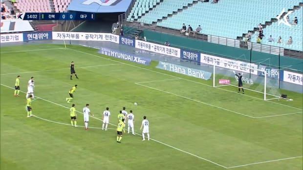 Gustagol stars for Jeonbuk in victory over Daegu
