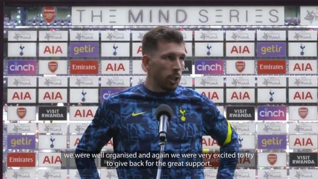 Pierre-Emile Højbjerg on victory over Arsenal