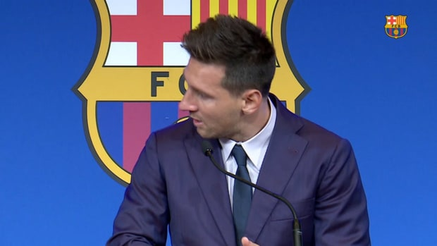 Leo Messi: 'It's really difficult to leave after so many years'