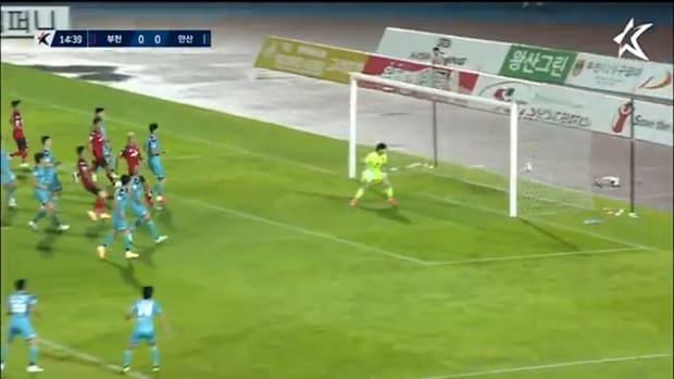 Han Ji-ho's low free-kick catches Ansan off-guard