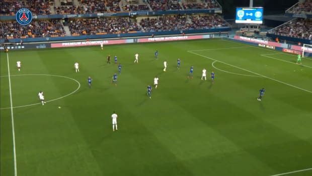 Achraf Hakimi's superb first Ligue 1 goal vs Troyes