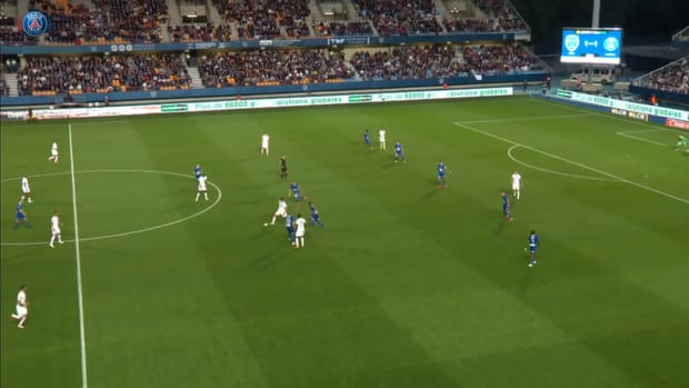Mauro Icardi's first Ligue 1 goal in 2021-22 vs Troyes
