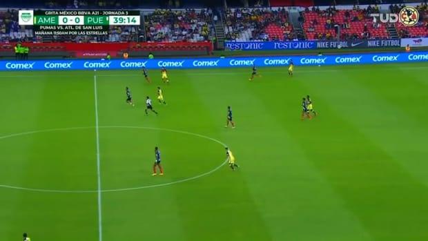 Roger Martínez's penalty goal against Puebla